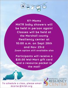KY-Moms MATR @ Marshall County Resiliency Center